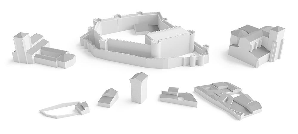 Modelado volumétrico para reconstrucción virtual