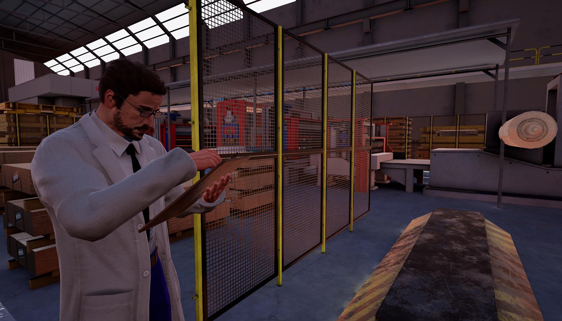 Simulador en realidad virtual de puente grúa con mando hecho en Unreal Engine 4