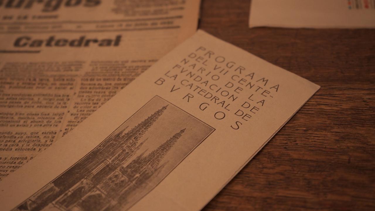 Panfleto Burgos 1921 documentación