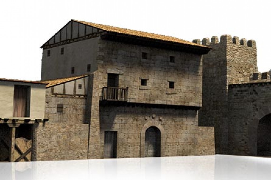 Casa de los Velasco en Briviesca en la Edad Media. Reconstrucción virtual de patrimonio.