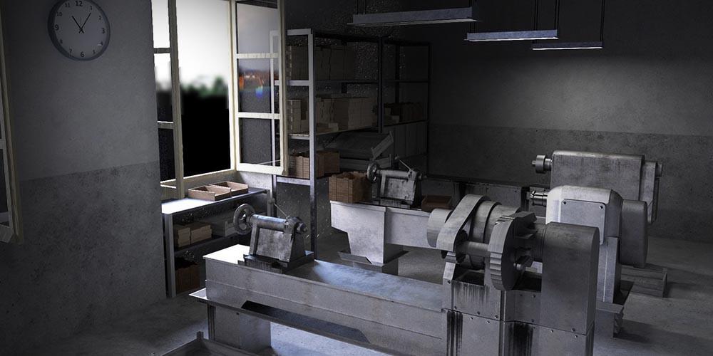 taller_modelo_3d_reconstruccion_virtual_patrimonio_industrialTaller de Antolín. Reconstrucción virtual en 360º. Modelo 3D. Render.