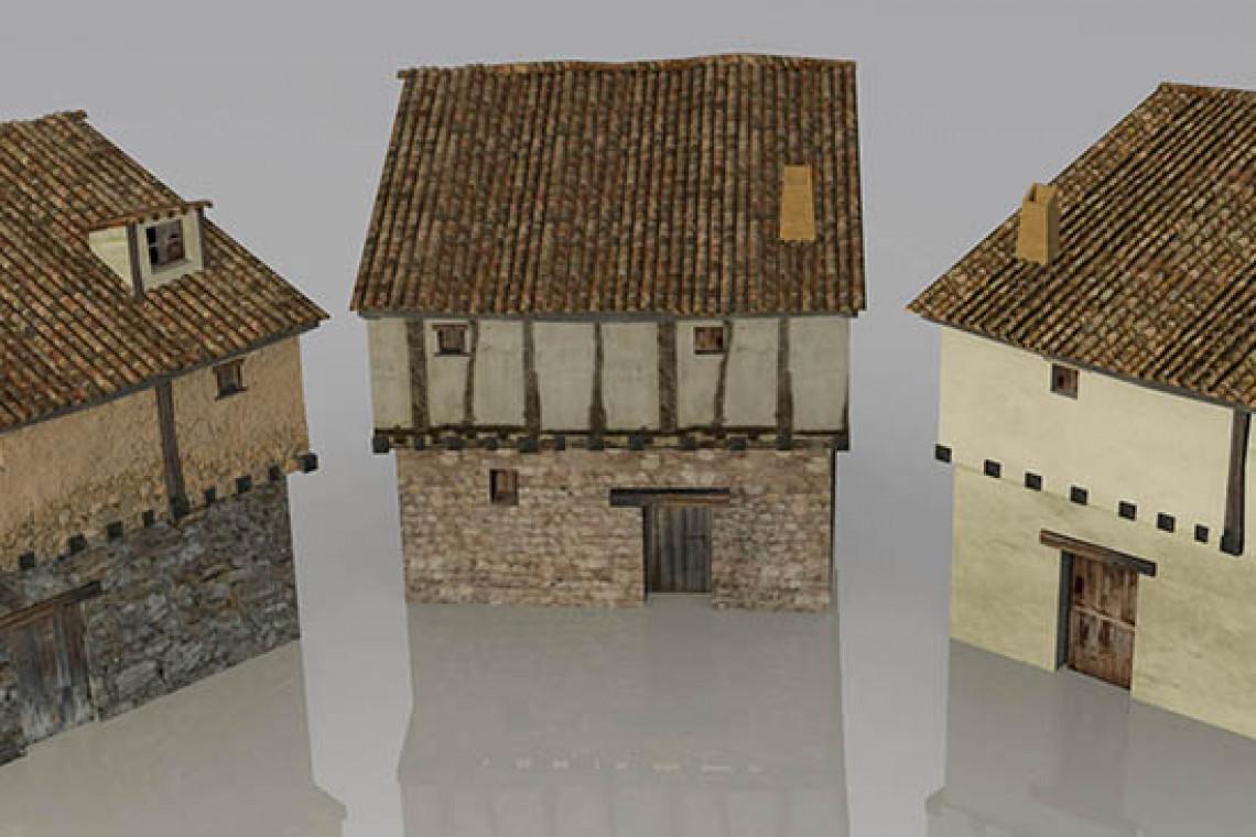 Alcázar de Briviesca en la Edad Media. Reconstrucción virtual de patrimonio.