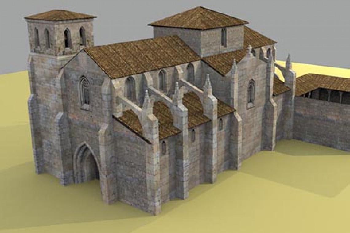 Iglesia de San Martín de Briviesca en la Edad Media. Reconstrucción virtual de patrimonio.