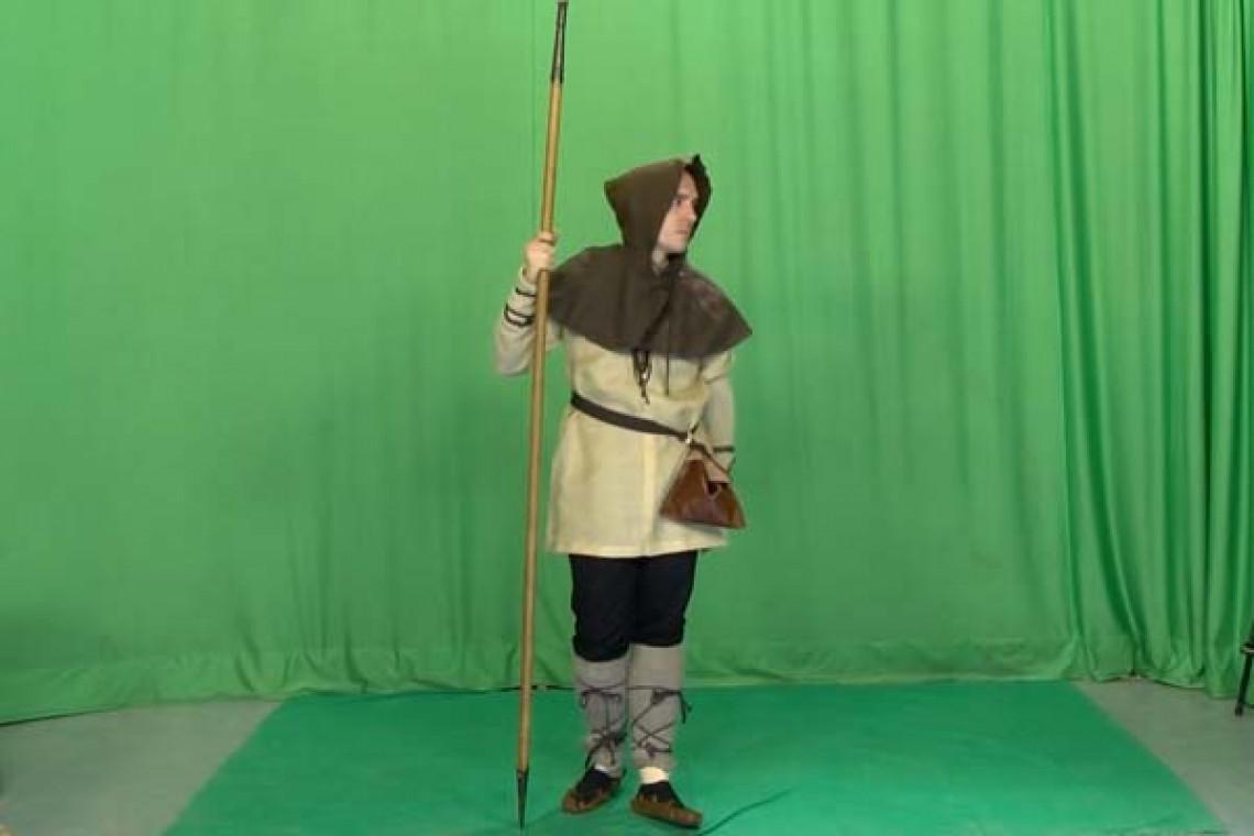 Grabación en chroma lanza medieval